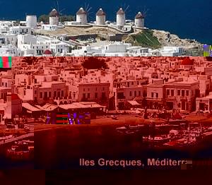Iles Grecques Mediterranee