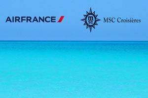Saison 2014-2015 : Air France transportera les passagers MSC Croisi�res vers La Romana